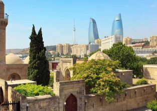 ایچری شهر باکو، شهر قدیمی باکو آذربایجان