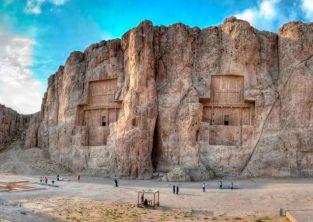 نقش رستم گنجینه دوران طلایی ایران باستان