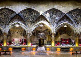 حمام وکیل زیباترین حمام  خزینه ای ایرانی