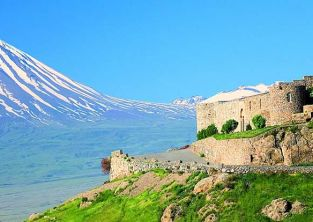 کلیسای خور ویراپ ارمنستان