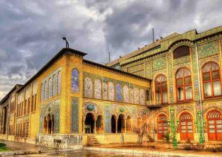 کاخ گلستان جاذبه گردشگری تهران