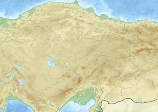 موقعیت جغرافیایی شهر وان ترکیه