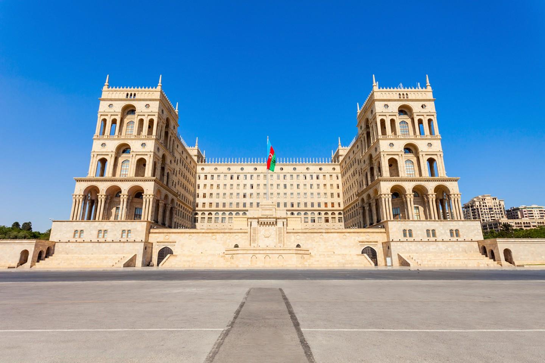 خانه دولت آذربایجان باکو