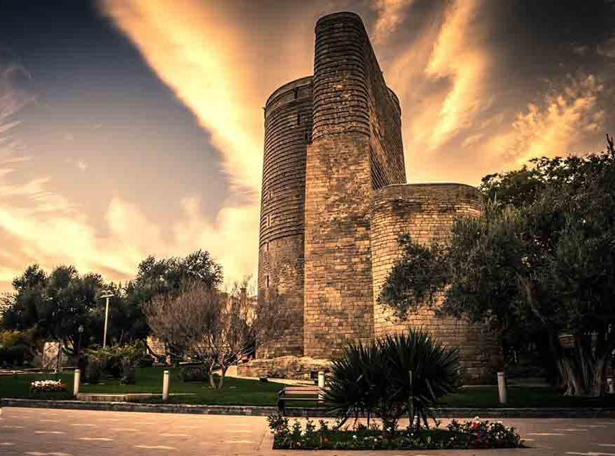 برج خیمه باکو