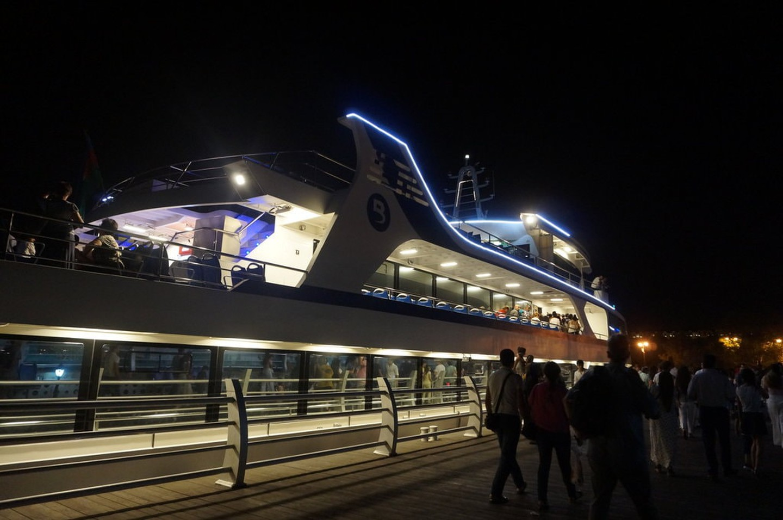 کشتی کروز دریای خزر