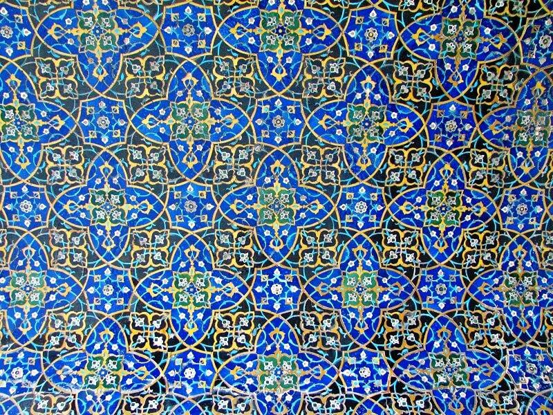 کاشی کاری های مسجد عتیق اصفهان