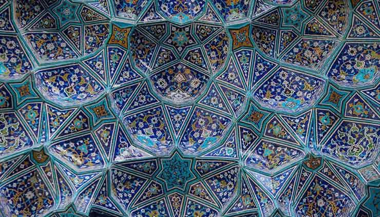کاشی کاری مسجد امام اصفهان