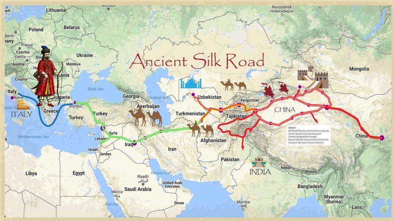 جاده ابریشم قدیمی ترین شاهراه تجاری جهان