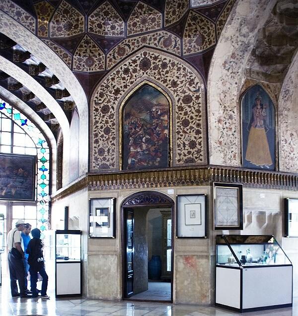نمای داخلی موزه پارس شیراز