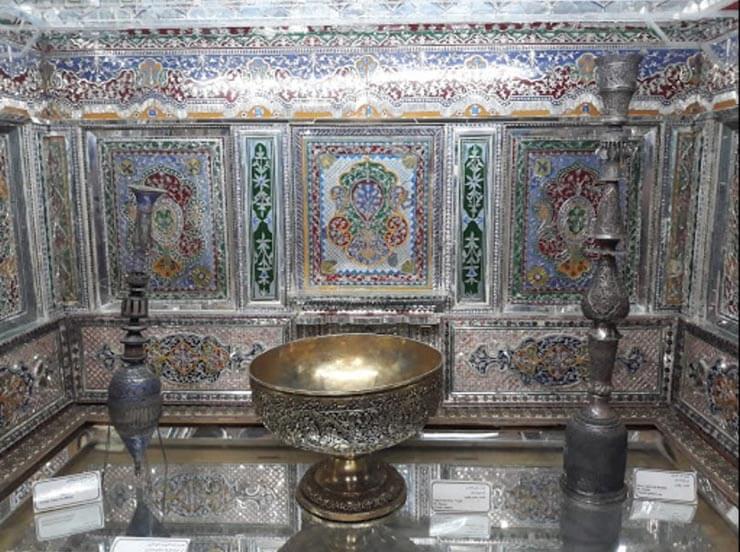 اشیای تاریخی موزه پارس شیراز