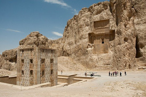 کعبه زرتشت در نقش رستم ، استان فارس
