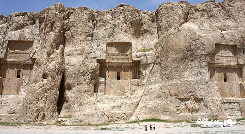 تخته سنگهای ساسانیان در نقش رستم ، استان فارس