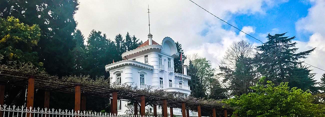 عمارت آتاتورک در ترابزون ترکیه