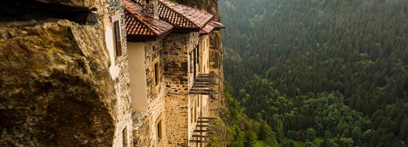صومعه سوملا ترابزون 1000 ساله ترکیه Sumela Monastery