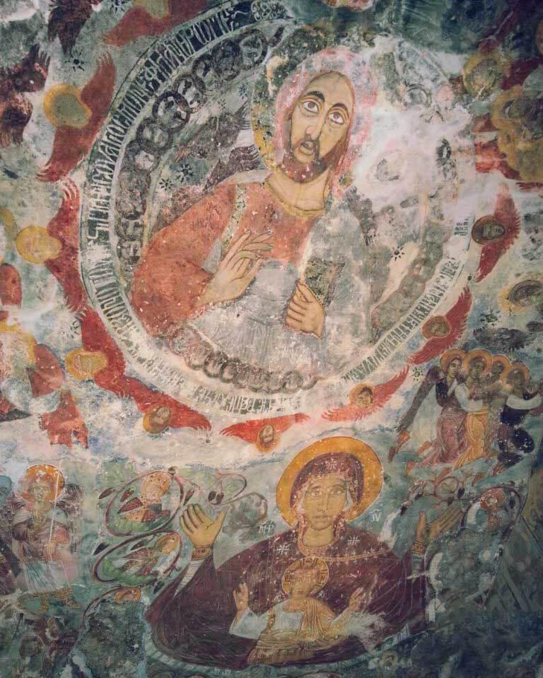 داخل صومعه سوملا ترابزون