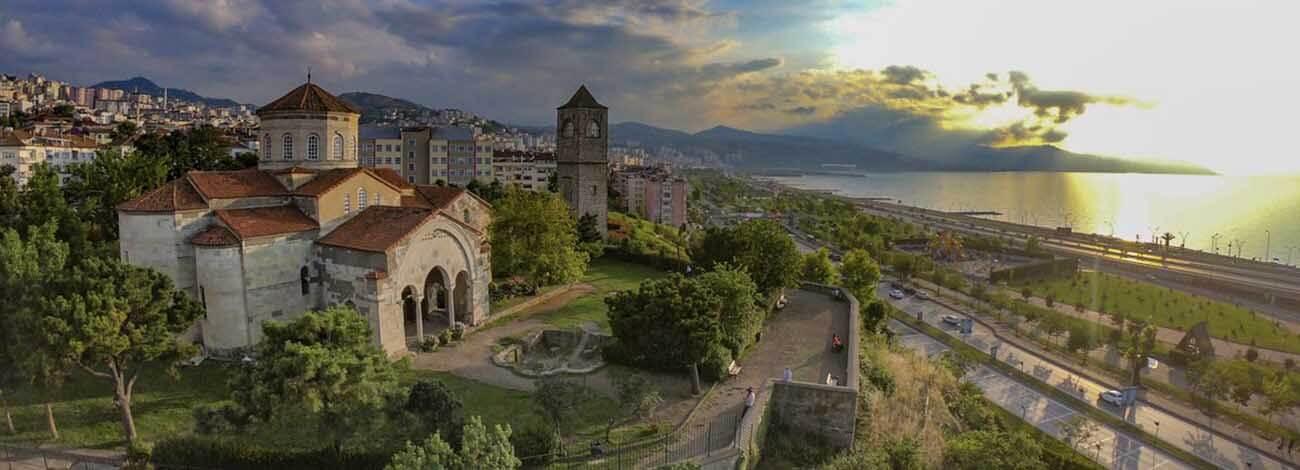 مسجد و موزه ایاصوفیه ترابزون ترکیه