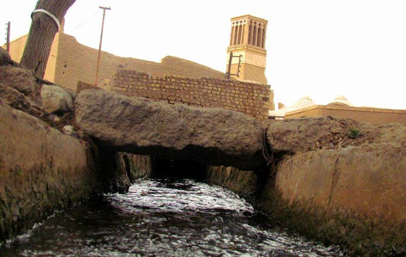 قنات معجزه ایرانی در کویر