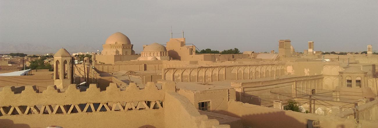موقعیت جغرافیایی و تاریخی استان یزد
