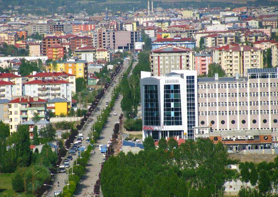 نمای شهر وان ترکیه