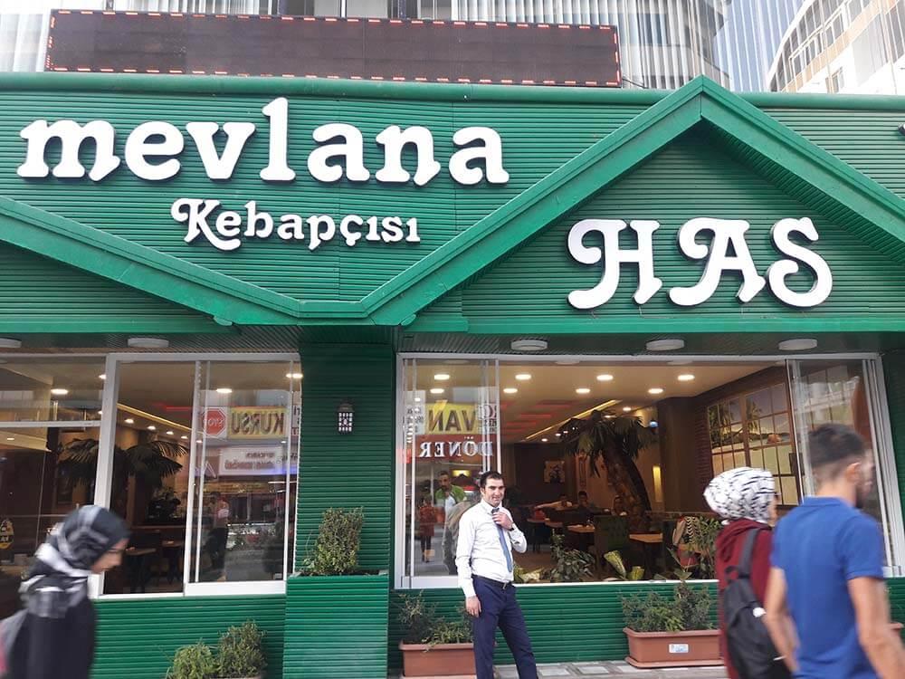 رستوران در شهر وان ترکیه