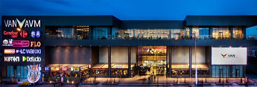 مرکز خرید آ و م avm وان ترکیه